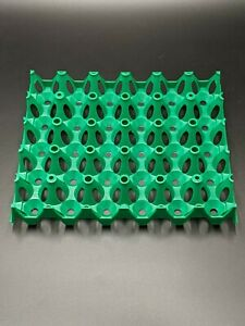 50 Pack Incubator Egg Trays 30 Hole Replacement Tray Chicken Pheasant Guinea