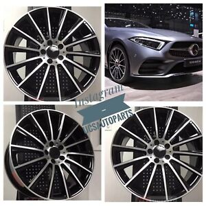 New 18 S550 Amg Style Wheels Rims Fits Mercedes Benz Amg Set Of 4