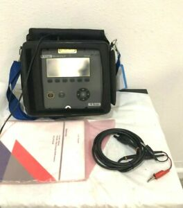 Tektronix Tek Telscout Ts100 Domain Reflectometerwith Manual Cable p s In A Bag