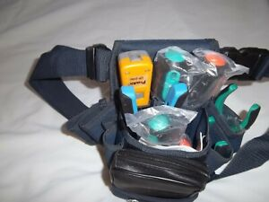 Eclipse Telecom Electrician Tool belt w Cable Tester Crimper Punch Pliers