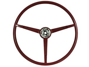 1966 Ford Mustang 1965 Falcon Reproduction Red Steering Wheel Alternator