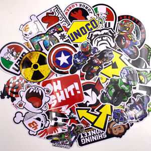 40pcs Jdm Sticker Pack Motorcycle Racing Car Motocross Helmet Dope Sticker Bomb