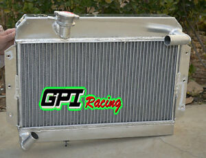 Aluminum Radiator For Mg Mga 1500 1600 1622 de luxe Mt 1955 1962 1956 1957 1961