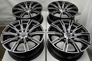 15 Wheels Rims Black 4 Lugs Mazda Miata Civic Yaris Cobalt Scion Xa Xb Corolla