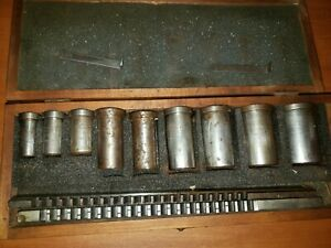 Dumont Minute Man Broach Set Broaches New And Used