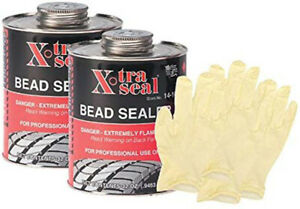 Xtra Seal Bead Sealer 32 Oz Bundle With Latex Gloves 6 Items Xtr14 101 2pkb