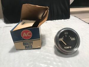 Vintage Ac Temp Gauge With Box Car Truck Part 648083 Old Stock
