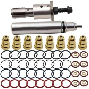 Fuel Injector Sleeves Remover Installer Kit For Navistar Dt466e Diesel Engine