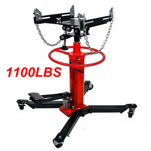 1660lbs Transmission Jack 2 Stage Hydraulic W 360 For Engine Lift Us Stock