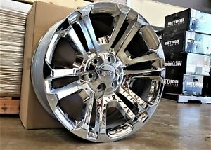 2007 20 Chevy Gmc Cadillac Factory 22 Chrome Wheels Nissan Infiniti Ram P U