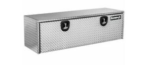 Buyers Products 18 X18 X60 Diamond Plate Underbody Truck Tool Box