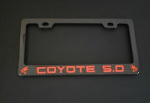 Coyote 5 0 Mustang F150 Real Carbon Fiber Plate Frame Top Quality