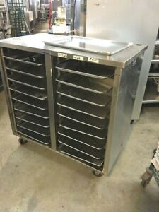 Cabinet Rack Table Stand Stainless steel Hold 18 Full Sheet Pans