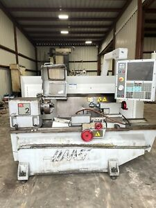 Haas Tl 2 Cnc Flat Bed Lathe Turning Center Usb Tooling Loaded 2007