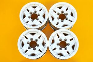Toyota 4runner Pickup T100 1986 1996 15 Machined Oem Set Of 4 Wheels Rims 370