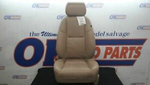 11 Gmc Yukon Denali Xl Front Left Driver Power Seat Tan Leather