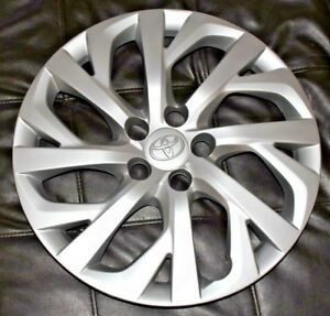 2017 2018 Toyota Corolla Hubcap 1 Original 16 Factory 61181 Oem Wheelcover