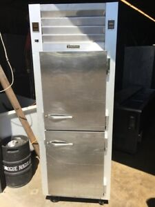 Cooler Refrigerator Traulsen Reach in Cooler Freezer Combo Unit