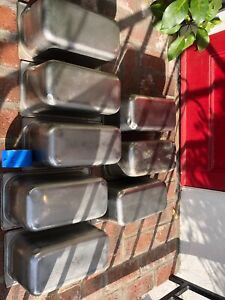 34 Lot Of 8 Don 1 4 Quarter Hotel Pans Stainless Nsf
