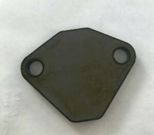 Small Block Mopar Dodge Plymouth Egr Block off Plate 318 360 Unpainted