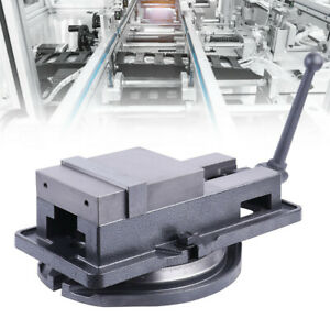 4 Inch Bench Clamp Lock Vise With 360 Swivel Base Milling Machine Fitter Tools