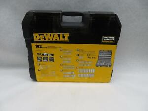 Dewalt Dwmt75049 Chrome Vanadium Mechanics Tool Set 192 piece