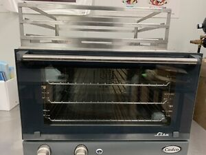Cadco Stainless Steel Commercial Oven Countertop With Three Racks