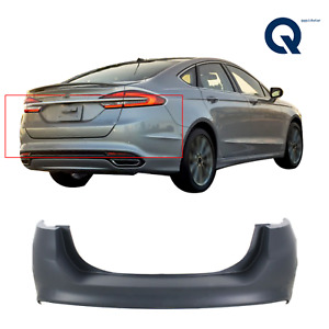 Primered Rear Bumper Cover Replacement For 2013 2018 Ford Fusion