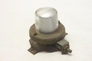 Original 1950 s Car Truck Under hood Trunk Trouble Light Assembly W Switch