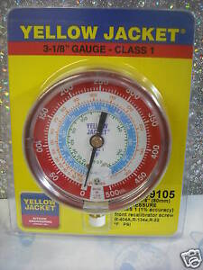 Gauge Refrigeration 3 1 8 R22 134a 404a 0 To 500 Ritchie Engineering