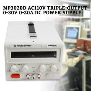 Dc Bench Power Supply Variable Adjustable Switching Regulated 0 30v 0 20a