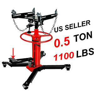 1660lbs 0 75ton Transmission Jack For Car Auto Lift 2 Stage Hydraulic W 360 A