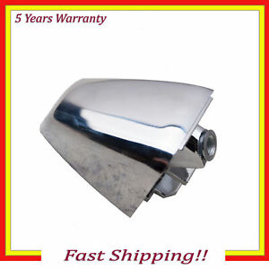 Outside Door Handle End Cap Cover New For 06 10 Hummer H3 Chrome Front Or Rear