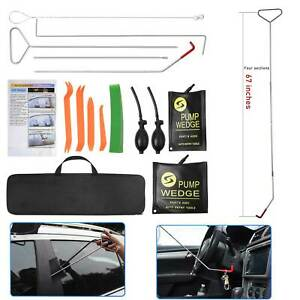 Universal Truck Car Window Lockout Professional Kit Air Wedge Non Marring Wedge