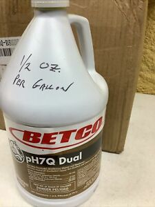 Betco Ph7q Dual 1 Gallon Concentrated Disinfectant Cleaner