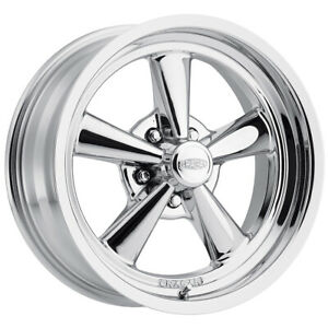 17x7 Cragar 610c G t 5x114 3 5x4 5 Chrome Plated Wheel Rim qty 4