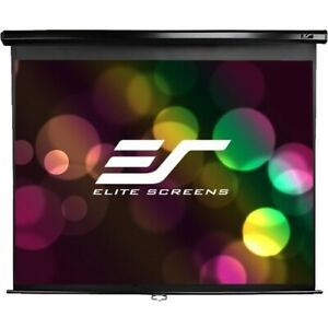 New Elitescreens M150uwv2 Manual Projection Screen 150in Pull Down