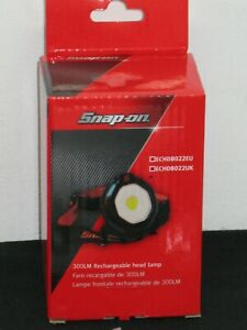 Snap On Recharable Magnetic Led Head Torch With Detatchable Adjust Angle Light