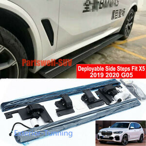 Deployable Electric Running Board Side Steps Fit For Bmw X5 G05 2019 2020 2021
