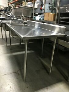 Sink Commercial Prep Sink Stainless steel 52 Long X 36 W X 36 H