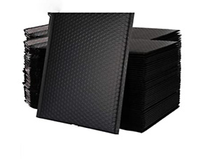 New Very Strong Convenient Black 10 x13 Padded Bubble Envelope Choose Qty