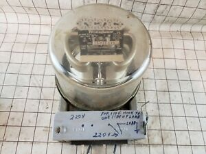 Vintage Westinghouse Watthour Meter Single Phase 15 Amp Ca 115 230 4 Dials 1930s