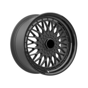 4 Wheels 18 Inch Matte Black Rims Fits 5x108 Volvo S80 2 5t 2005 2006