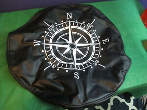 Jeep Wrangler Spare Tire Cover Oem 17 Compass