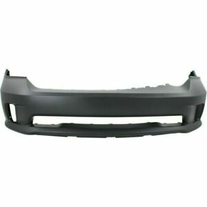 New Ch1000a10 Front Primed Plastic Bumper Cover For Ram 1500 2013 2018