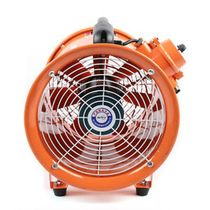 10 Extractor Axial Fan Blower Spray Booth Fume Utility Ventilation Exhaust Fan