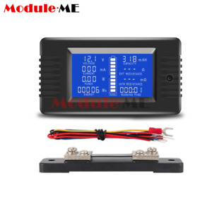 Pzem 015 Battery Tester Monitor Dc Voltage Current Power Capacity 50a Shunt