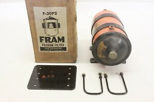 Nos Fram Accessory Remote Oil Filter Canister Assembly Ford Chevy Mopar F 30p2