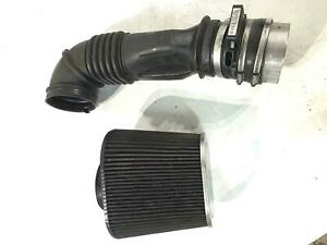 2004 2005 Cadillac Cts V Air Cleaner Tube With Kn Air Filter Damage To Tube