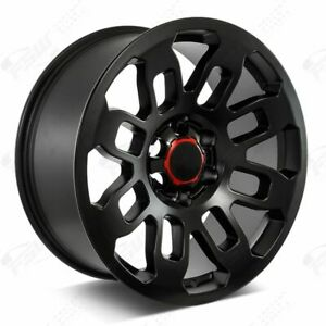 20 Pro Style Satin Black Wheels Fits Toyota 4runner Fj Cruiser Tacoma